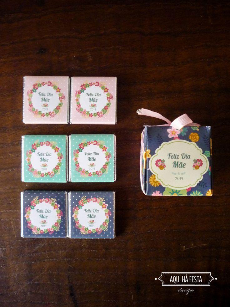 Little box with mini-chocolates