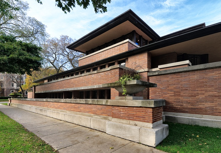 88 best images about frank lloyd wright 39 s robie house on for Frank lloyd wright prairie house