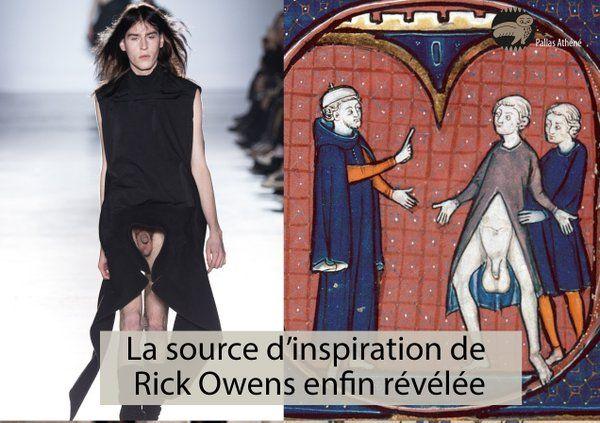 La source d'inspiration de #RickOwens enfin révélée ! RT pour partager cette incroyable découverte  #DailyPallasMeme Pallas Athéné (@PallasAtheneYT)   Twitter