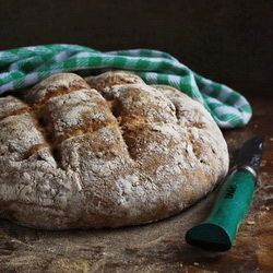 Granary flour bread with cranberries