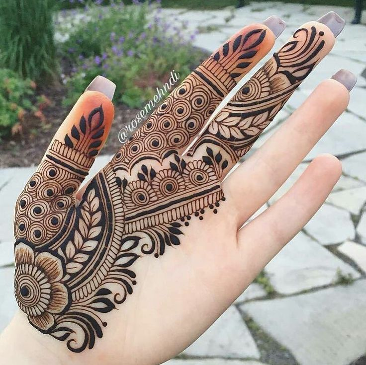 "6,040 Likes, 39 Comments - Mehandi designs (@awesomemehandi) on Instagram: ""plz tag the artist"""