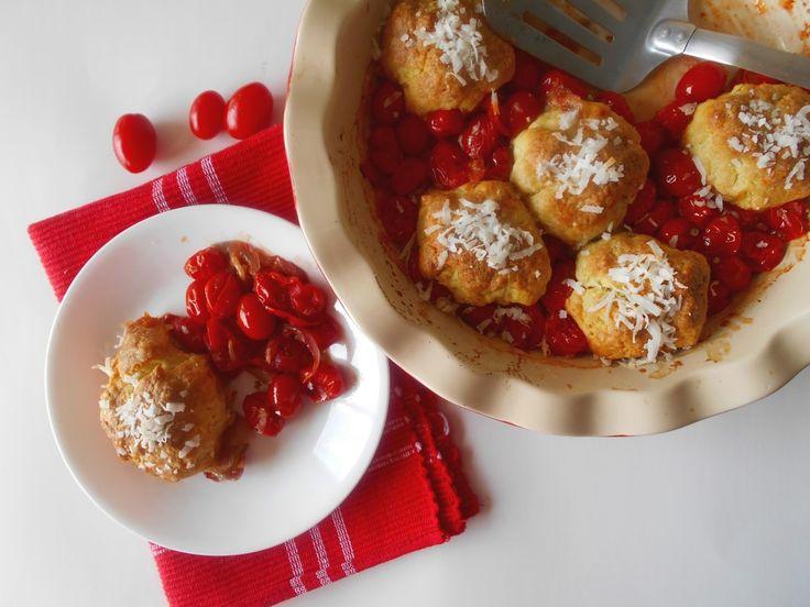 Tomato Cobbler | Recipe | Tomatoes, Vegetarian Dish and Bisquick