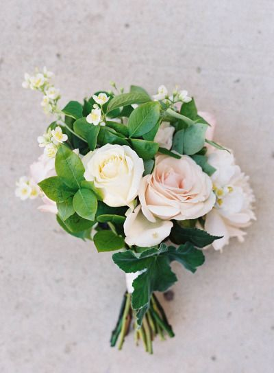 Romantic Italian inspired bouquet: http://www.stylemepretty.com/2014/09/08/modern-tuscan-inspired-wedding-with-pops-of-color/ | Photography: Jen Huang - http://jenhuangphoto.com/