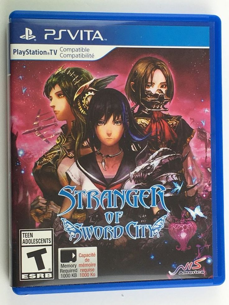 Stranger of Sword City for Sony Playstation VITA 813633016474 | eBay