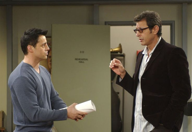 Jeff Goldblum friends série guest star