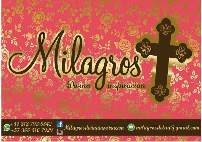 CONTACTANOS #milagrosdivinainspiracion whatsapp 3137935842