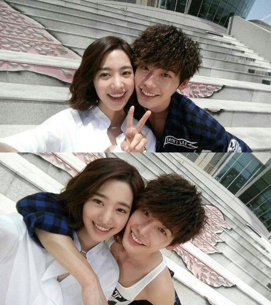'Doctor Stranger's Lee Jong Suk and Jin Se Yeon look like a cute couple even off camera | allkpop