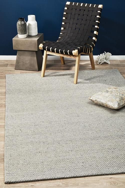 Studio 320 Grey Wool And Viscose Rug Reno S Rugs