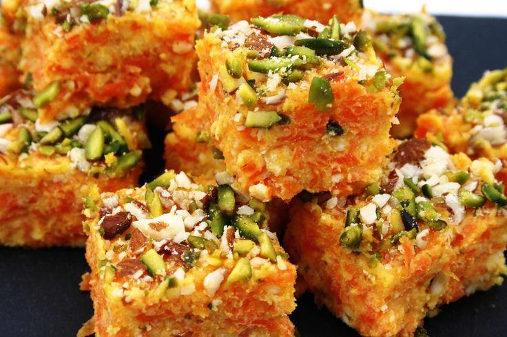 Gajar Barfi: Indian Carrot Fudge