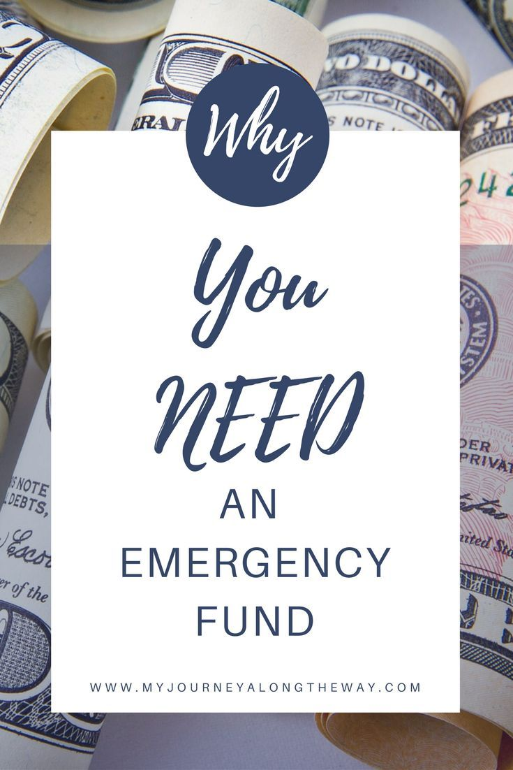 Why you need an emergency fund! You need to have a plan for emergencies and set up a savings account just for that.