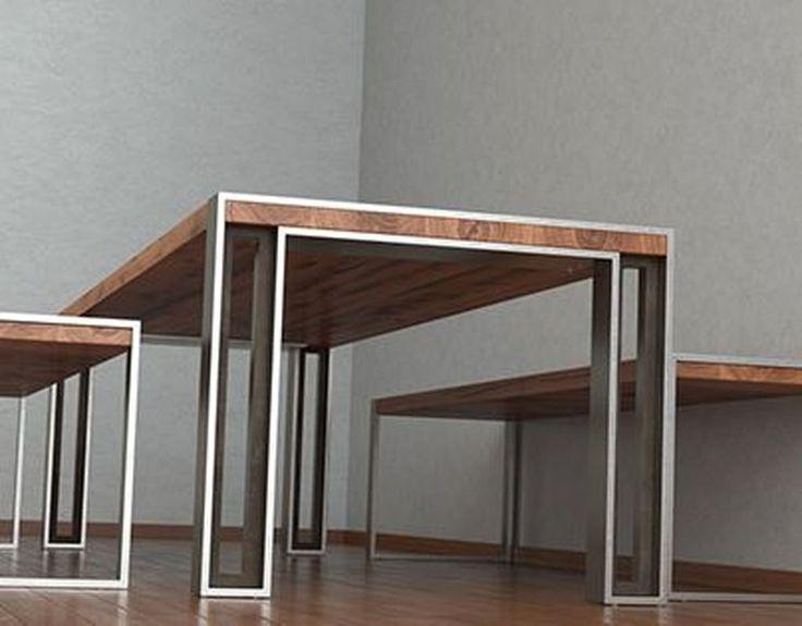 49 Idéias fantásticas de design de mesa industrial Se você está procurando uma mesa que …   – dinners