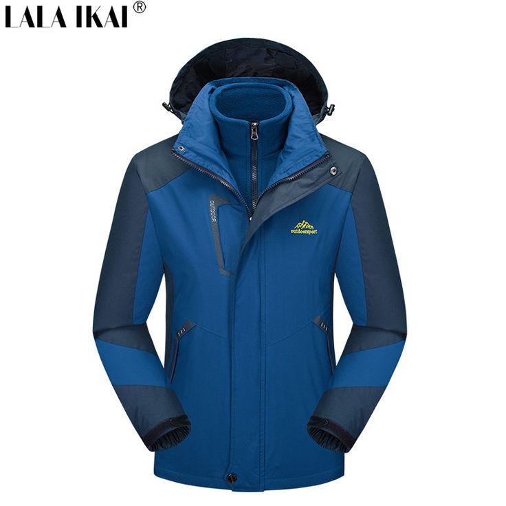 Зимние толстые открытый куртка softshell для мужчин и женщин Водонепроницаемый Лыжный Спорт Восхождение потепления Пальто Пешие Походы Рыбная ловля HMA0606 купить на AliExpress