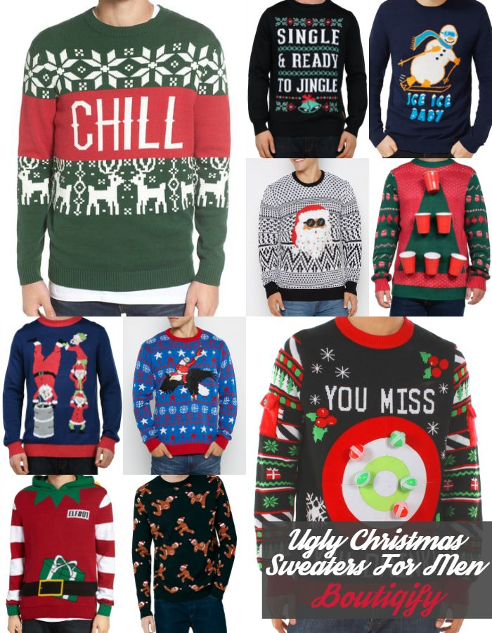Our Favorite Ugly Christmas Sweaters For Men