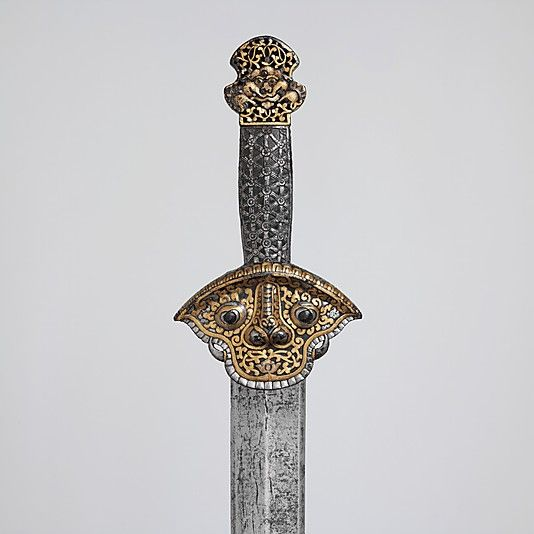 Sword, 14th–16th century. Tibetan or Chinese. The Metropolitan Museum of Art, New York. Purchase, Rogers Fund and Fletcher Fund, by exchange, 1995 (1995.136) #sword