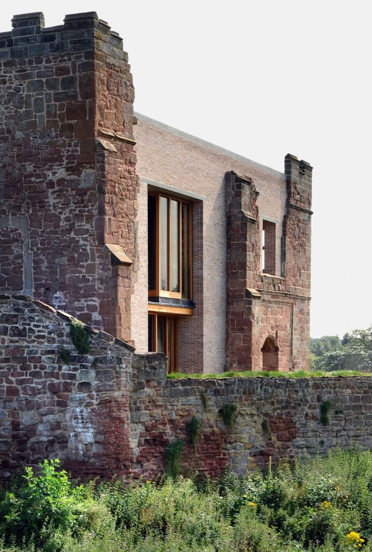 Astley Castle by Witherford Watson Mann Architects | HomeDSGN, a daily source for inspiration and fresh ideas on interior design and home de...