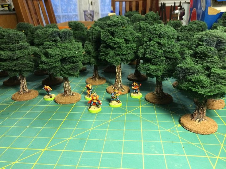 Terrainscaping! How To Make Awesome Tabletop Trees!