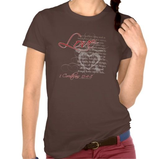 >>>Order          Christian Women's T-Shirts, Love 1 Corinthians 13           Christian Women's T-Shirts, Love 1 Corinthians 13 We have the best promotion for you and if you are interested in the related item or need more information reviews from the x customer who are own of them befo...Cleck See More >>> http://www.zazzle.com/christian_womens_t_shirts_love_1_corinthians_13-235305784285486855?rf=238627982471231924&zbar=1&tc=terrest