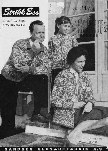 Jærkofte 349 Utgitt høsten 1957