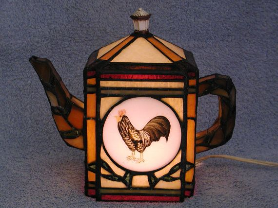 teapot lamps on pinterest floor lamps stained glass and lamp shades. Black Bedroom Furniture Sets. Home Design Ideas