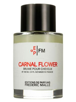 This perfumed Editions de Parfums Frédéric Malle Carnal Flower Hair Mist packs a heavenly bouquet of floral notes.