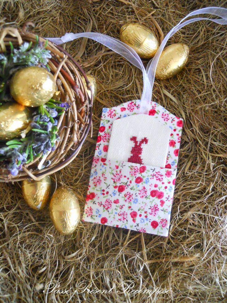 Passé Présent Recomposé: Étiquettes de Pâques