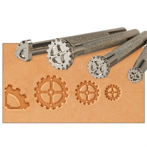 Steampunk Gear 4-piece Leathercraft Tool Set Leather Stamp Design Tandy 69035-00 - See more at: https://buysend.com/Products/112252/steampunk-gear-4-piece-leathercraft-tool-set-leather-stamp-design-tandy-69035-00#sthash.Jg3RuP8F.dpuf