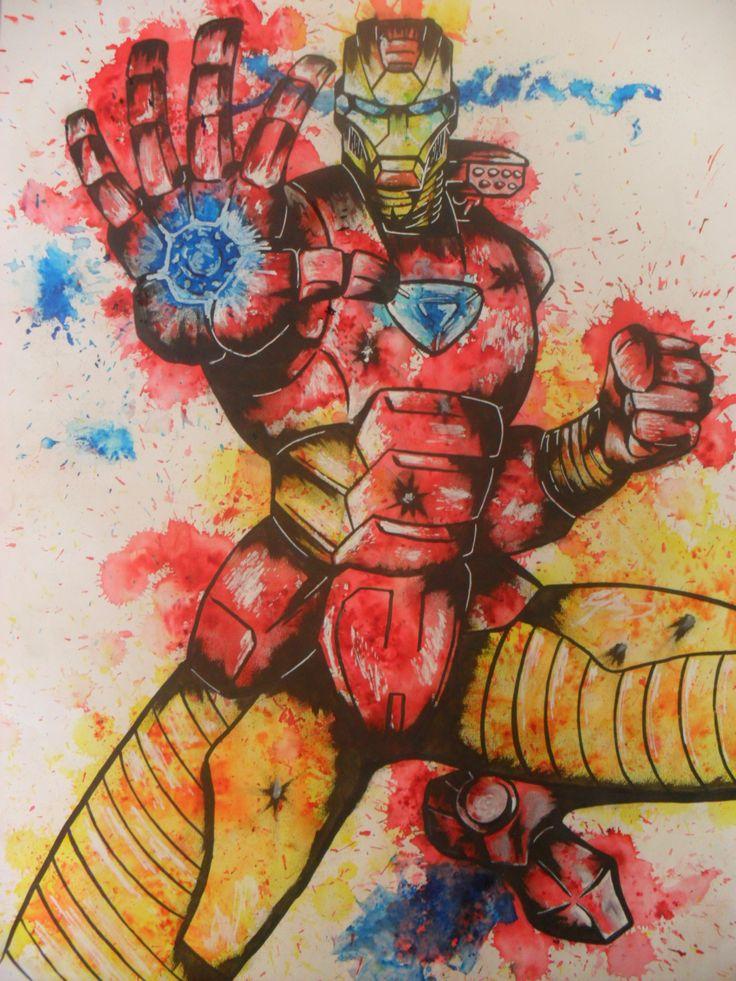 Brusho iron man