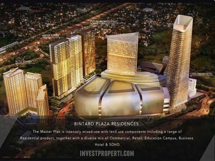 Bintaro Plaza Residences Apartment