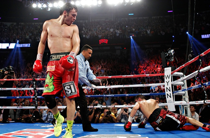 Perhaps the only thing most people will remember from the Chavez v Martinez fight