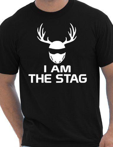 I Am The Stag Funny Stag Do/Mens T-Shirt Unisex Large Black Print4U http://www.amazon.co.uk/dp/B00DM6GLU2/ref=cm_sw_r_pi_dp_AECgwb0E246BD