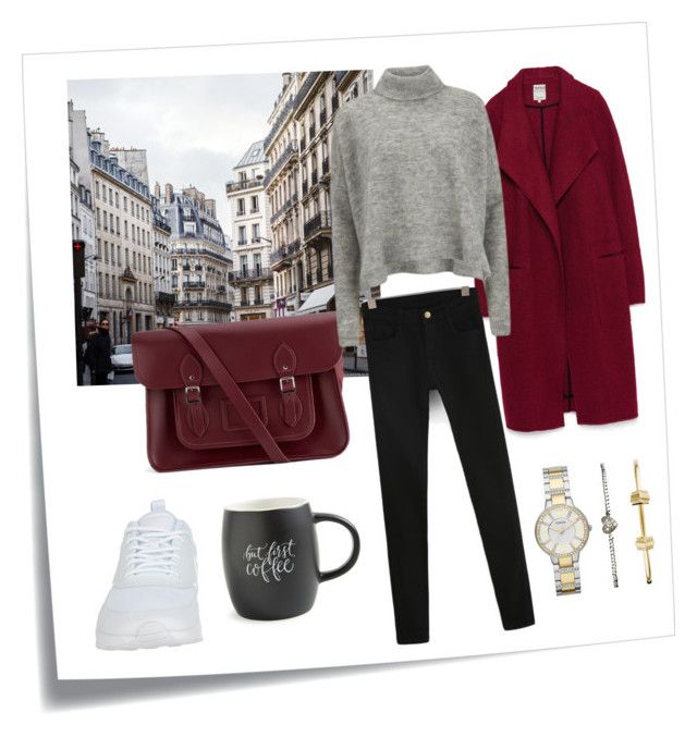by betti-nyilas on Polyvore featuring polyvore, fashion, style, Designers Remix, NIKE, FOSSIL, Post-It, Zara, The Cambridge Satchel Company and Printable Wisdom