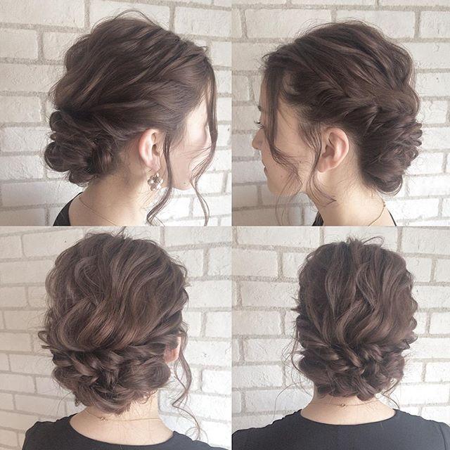 .   アレンジ × フルアップ  .  皆さん、おはようございます✨ .  昨日のアレンジ .  やわらかーく編んでしっかり留める✨ .  最近なんか早起きできるようになったなーー .  前髪長い方は前髪も編んでおくれ毛だけを残してくのにハマってます .  #hairstyle#ヘア#おしゃれ##かわいい#longhair#外国人風#ヘアスタイル#ロングヘアー#アッシュ#ヘアカラー#グラデーションカラー#ハイライト#コーデ#コーディネート#ヘアアレンジ解説#三つ編み#ボブ#ショート#アレンジ#ヘアアレンジ#編み込み#ar#nylon#きぬがわひかる#作品撮り#fashion  @album_hair