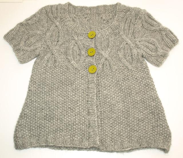 Knit Cardigan by Fru Obenhaupt
