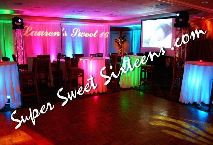 Sweet 16 Ideas and Room Transformation From Super Sweet Sixteens.com   Check out more of our Long Island Sweet 16 DJ parties at http://www.supersweetsixteens.com/index.html