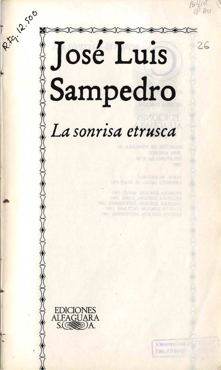 La sonrisa etrusca / José Luis Sampedro