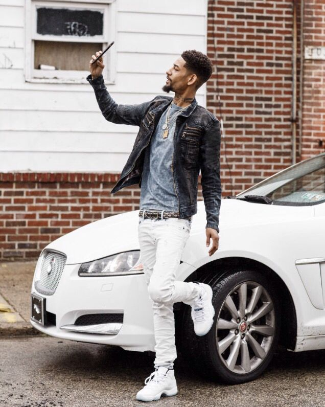 PnB Rock photo shoot for FADER Magazine
