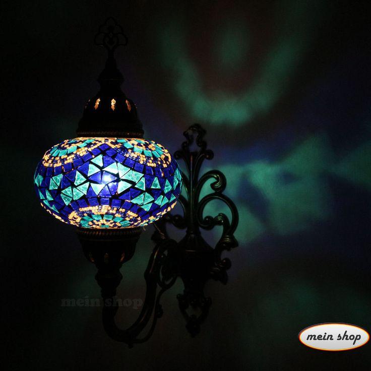 Details Zu WandleuchteTürkei Mosaik Wand Lampe Mosaiklampe Wandlampe  Orientalische L Lampe
