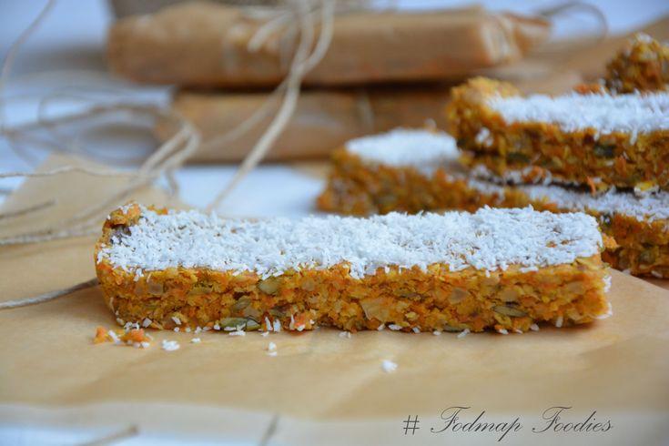 Suikervrije worteltaart repen -