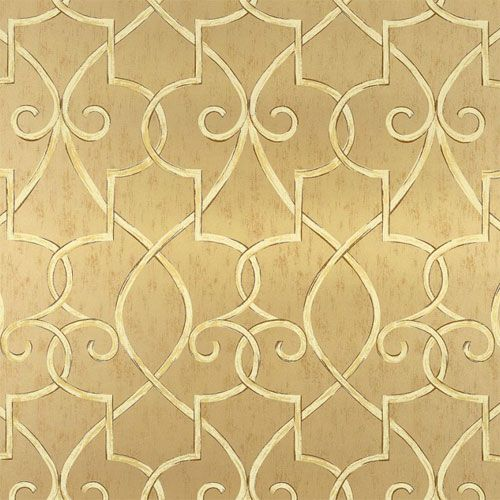 Hampton Lattice Wallpaper in Metallic GoldWall Decor, Hampton Lattice, Lattice Wallpapers, Grayden Wallpapers, Gold Wallpapers, Bathroom Ideas, Metals Gold, Painting Colors, Resources Collection