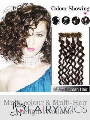 110 best curly african american wigs images on pinterest black wonderful human hair nailu tip hair extensions pmusecretfo Image collections