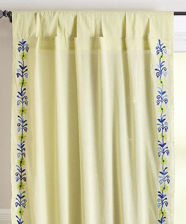Look what I found on #zulily! Green Western Curtain Panel #zulilyfinds