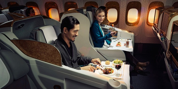 Emirates Hello Tomorrow by Maurice Heesen, via Behance