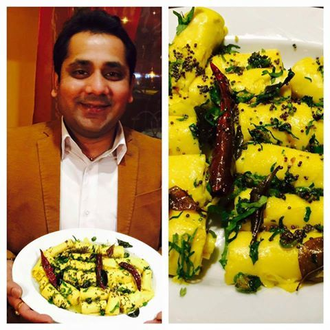Arun Barot, owner of Mr India, from the special region of the region region. :) http://www.mrindia.pl/
