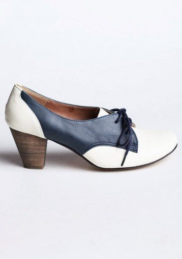 Saddle Oxford Heels