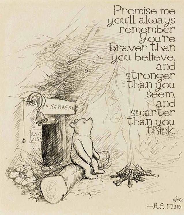 Pooh Bear is smarter than he thinks