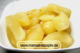 Eingelegte Senfgurken | Mamas Rezepte - mit Bild und Kalorienangaben