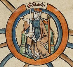 Edward the Elder (c. 874-924) Son of Alfred, King of Wessex and Ealtswith. Husband to Ecgwynn, Aelfflaed and Eadgifu. *House of Wessex*
