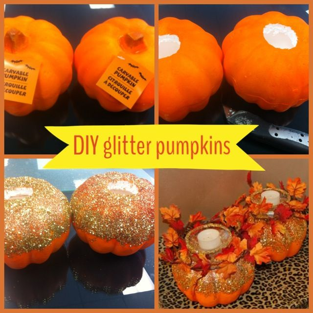 Using dollar tree carvable pumpkins.
