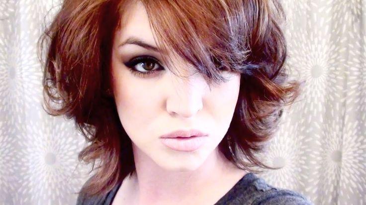 Perfect Curls For Short Hair ❤ Tutorial #shorthairdontcare