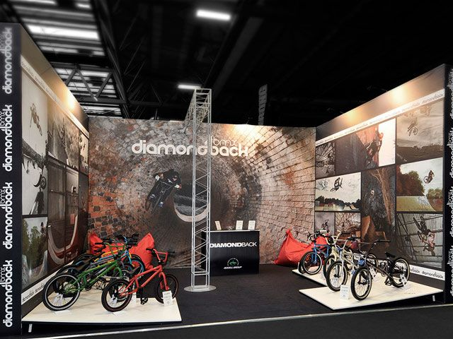 #ExhibitionStand for Raleigh Diamondback BMX @ The Cycle Show 2012